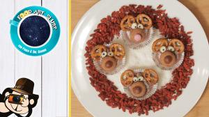 food art slurp - goji di natale